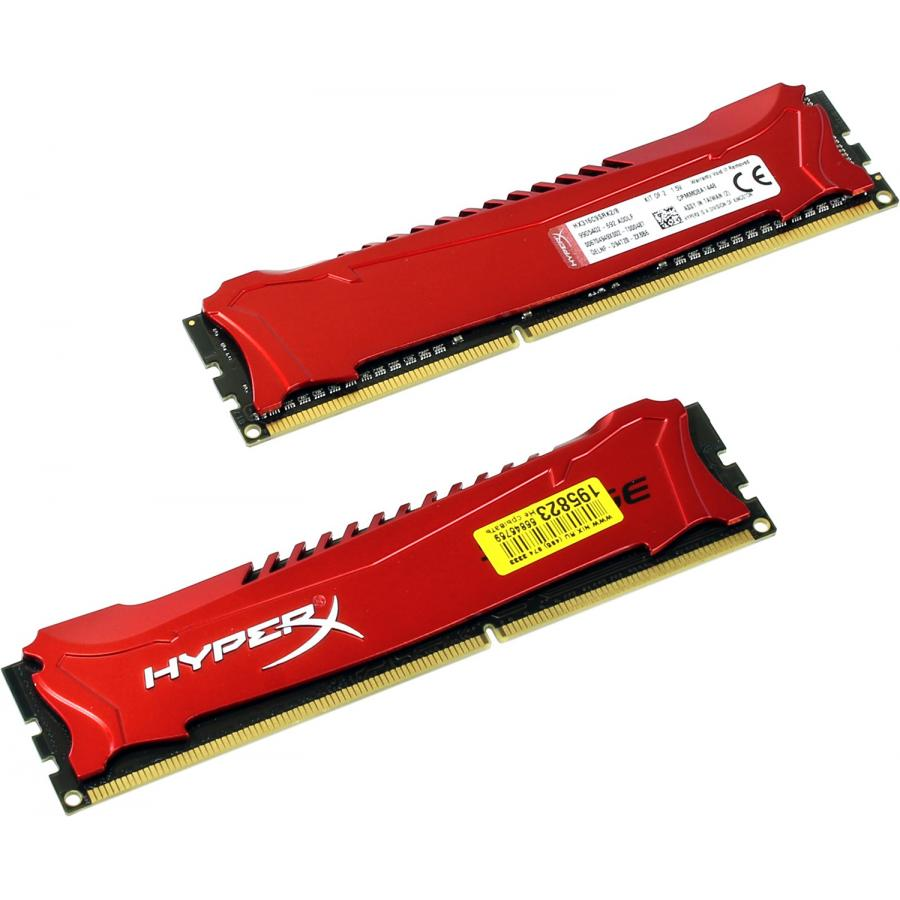 DDR3 Kingston 2x4Gb HyperX Savage Red (HX316C9SRK2/8)