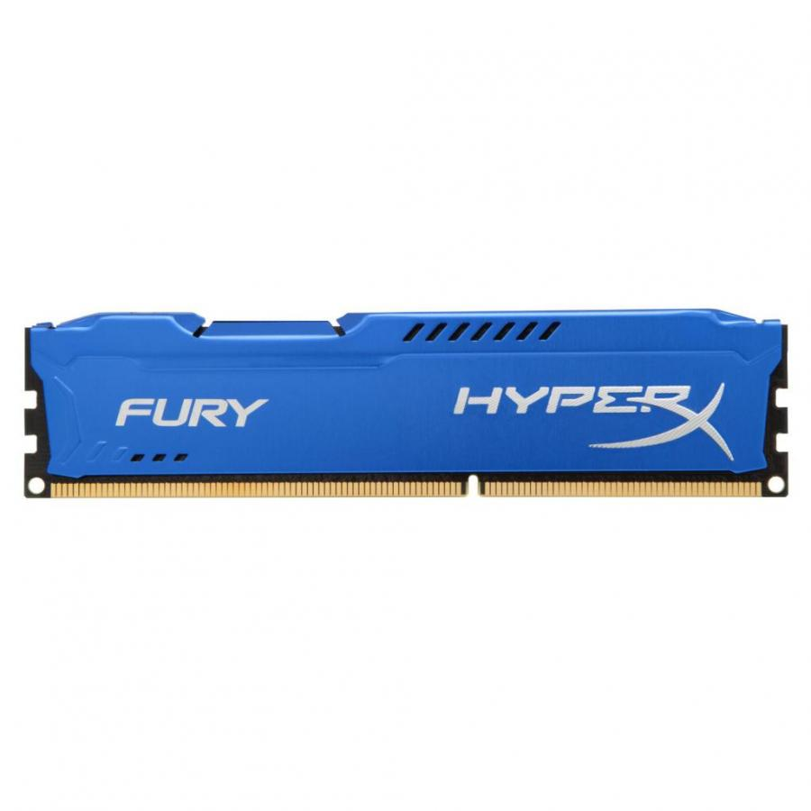 все цены на Память DDR3 Kingston 4GB 1600MHzПамять DDR3 CL10 DIMM HyperX FURY Blue Series (HX316C10F/4) онлайн