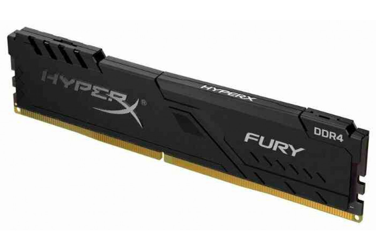Купить Память оперативная DDR4 Kingston HyperX Fury Black CL15 32Gb 2400Mhz (HX424C15FB3/32)