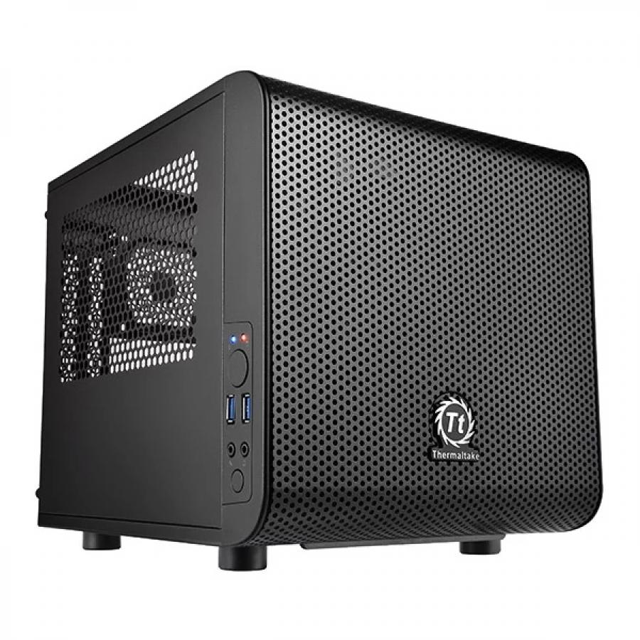 Корпус Thermaltake Core V1 черный без БП miniITX