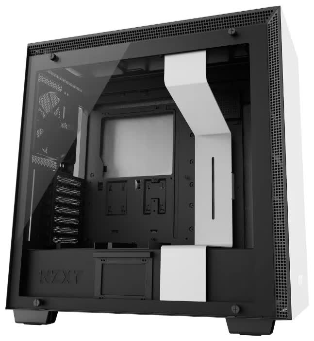 Корпус NZXT H700i CA-H700W-WB (CA-H700W-WB) корпус microatx miditower nzxt h400i smart ca h400w wb white black