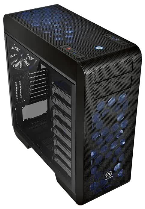 Корпус Thermaltake Core V71 TG (CA-1B6-00F1WN-04) корпус thermaltake core v71 black ca 1b6 00f1wn 03