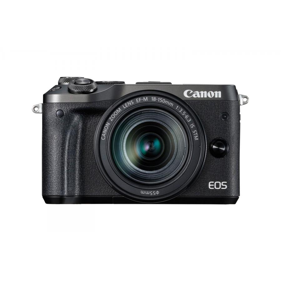 Цифровой фотоаппарат Canon EOS M6 Kit EF-M 18-150 IS STM Black фотоаппарат canon eos m6 kit ef m 15 45 is stm black