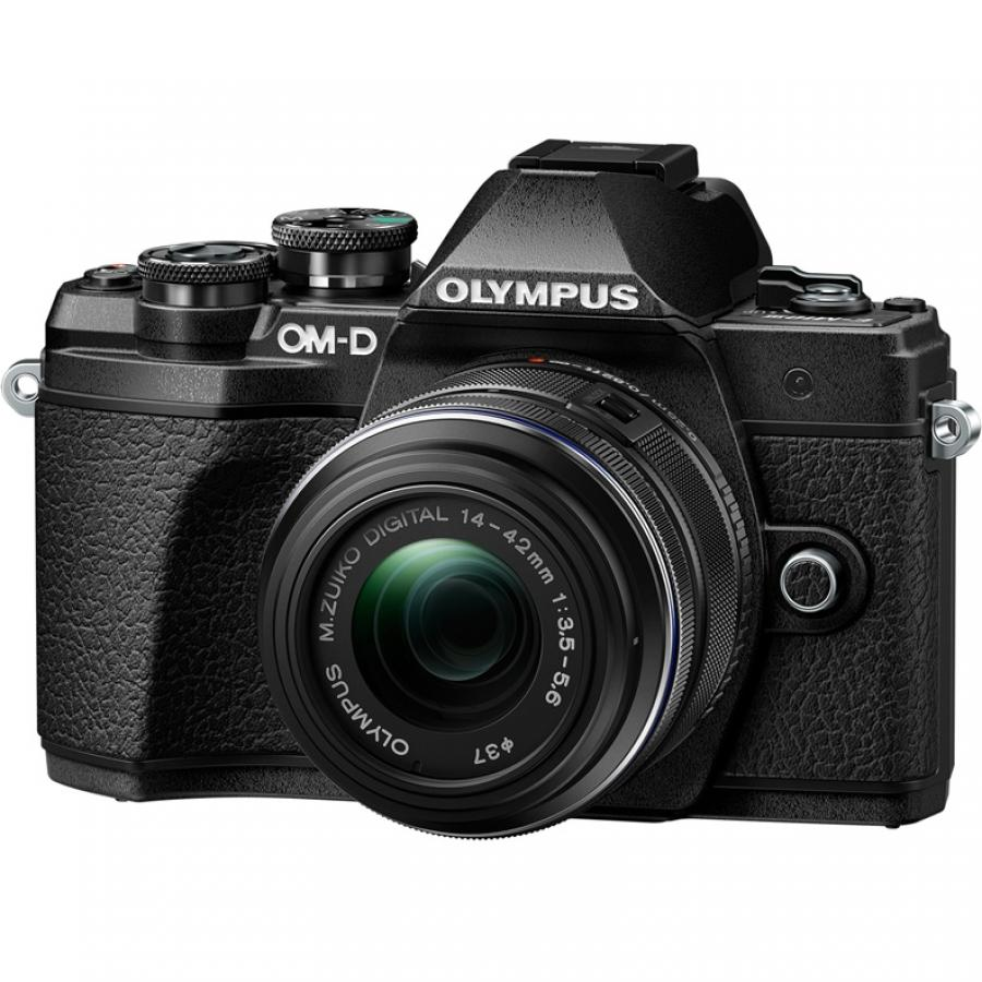 Цифровой фотоаппарат Olympus OM-D E-M10 Mark III Kit 14-42 mm II R Black