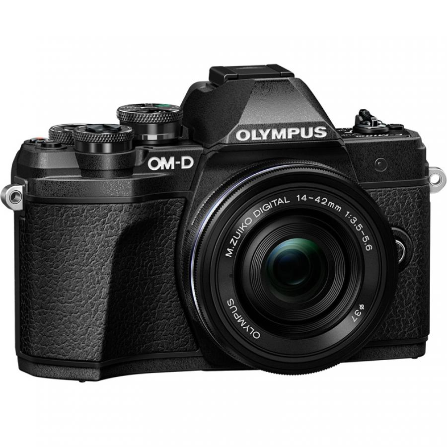 Цифровой фотоаппарат Olympus OM-D E-M10 Mark III Kit 14-42 mm EZ Black