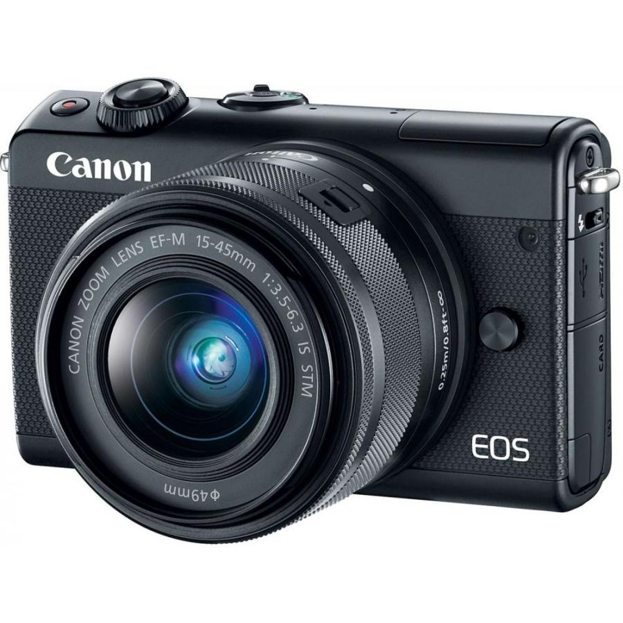 Цифровой фотоаппарат Canon EOS M100 kit 15-45 IS STM Black