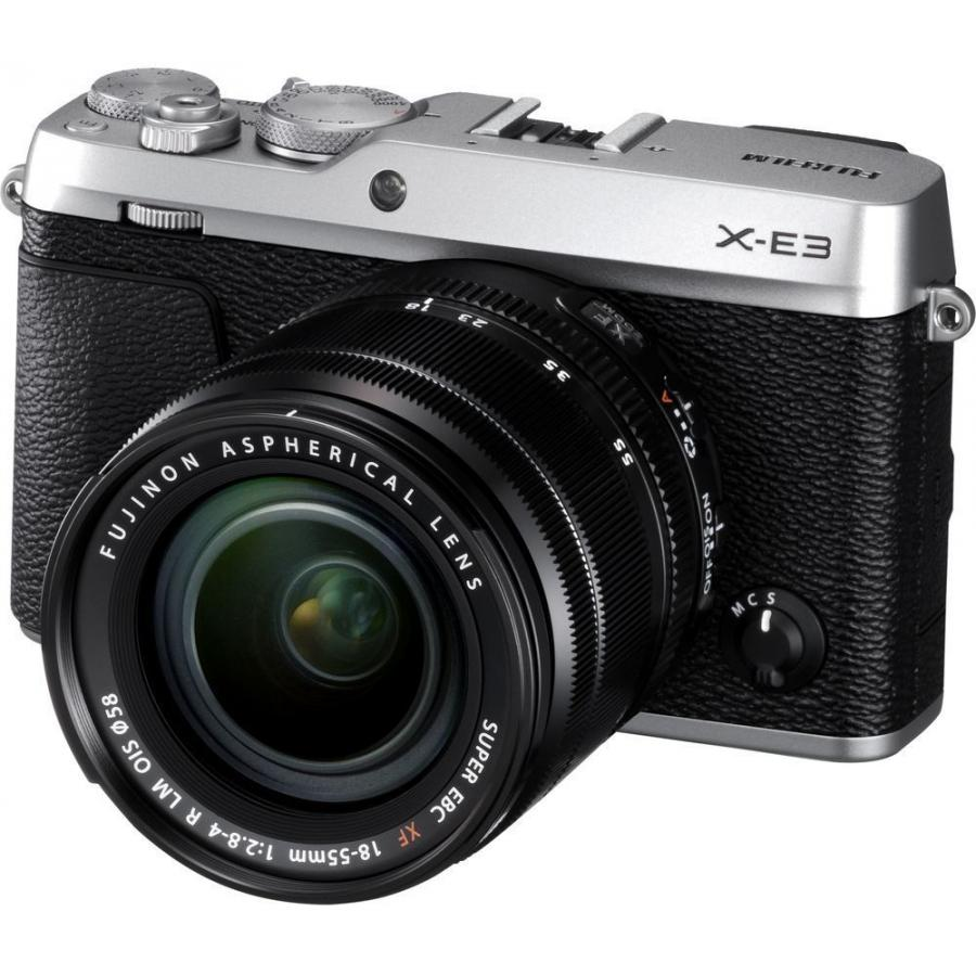 Фото - Цифровой фотоаппарат FujiFilm X-E3 kit 18-55 Silver meike new batterry grip mk xt2g for fujifilm x t2