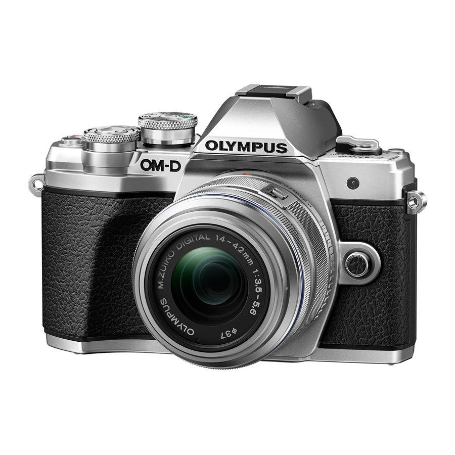 Цифровой фотоаппарат Olympus OM-D E-M10 Mark III Kit 14-42 mm II R Silver