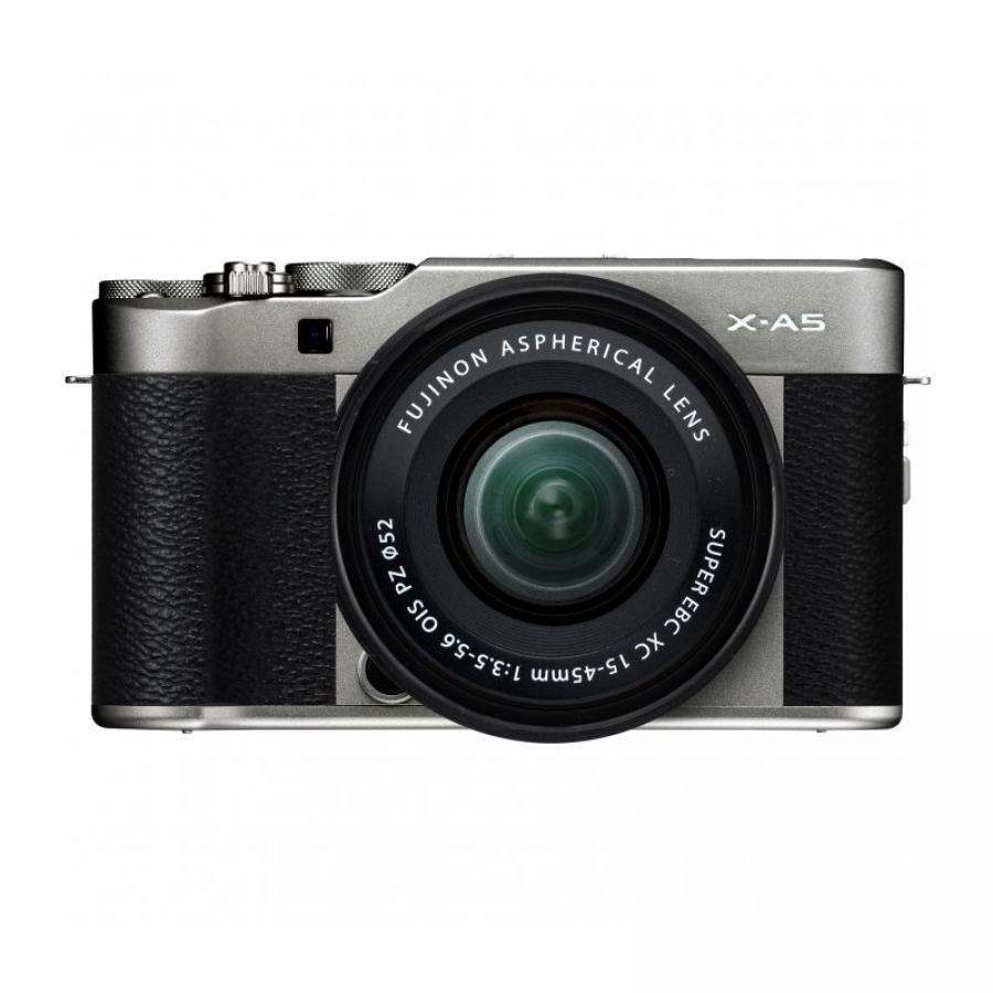 Цифровой фотоаппарат FujiFilm X-A5 kit XC15-45mm OIS PZ Dark Silver фотоаппарат fujifilm finepix xp140 dark silver