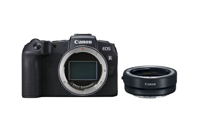 Цифровой фотоаппарат Canon EOS RP Body + Mount Adapter EF-EOS R фотоаппарат canon eos 1d c body