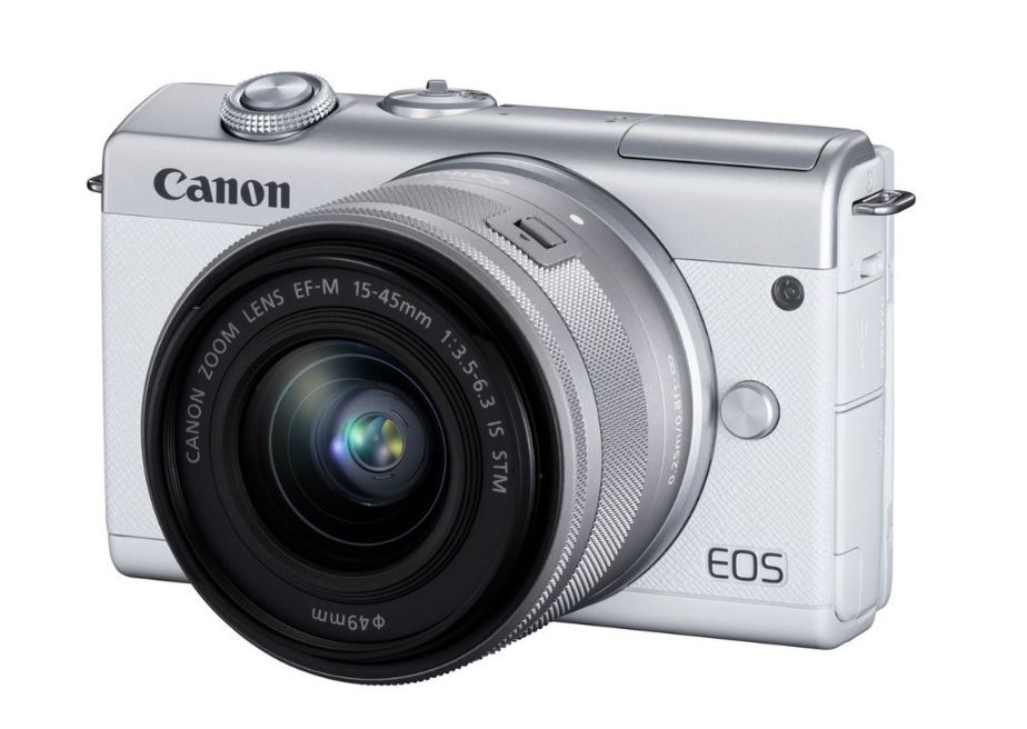 Фотоаппарат Canon EOS M200 kit белый 15-45 IS STM