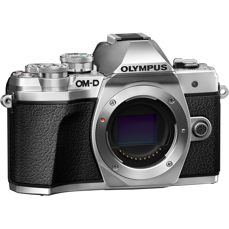 Цифровой фотоаппарат Olympus OM-D E-M10 Mark III Kit ( E-M10 Mark III Body silver + ED 12-200mm F3.5-6.3 black)