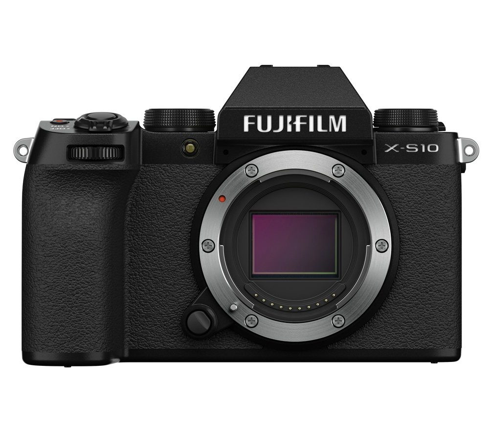 Фото - Цифровой фотоаппарат FujiFilm X-S10 Body Black фотоаппарат fujifilm x t3 kit 18 55mm silver