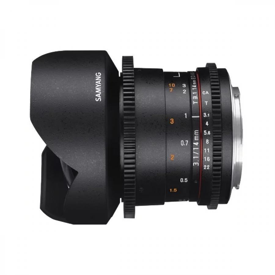 Объектив Samyang MF 14mm T3.1 ED AS IF UMC VDSLR II Sony E объектив samyang sony e nex mf 14 mm t3 1 ed as if umc vdslr