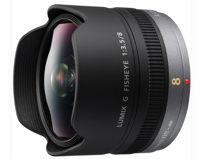 Объектив Panasonic Lumix H-F008E G FISHEYE 8mm / F3.5 объектив panasonic h hs043