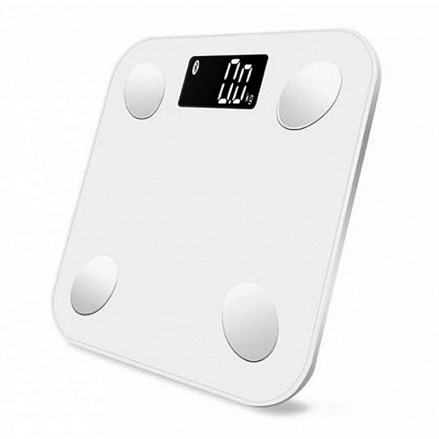 Весы напольные MGB Body fat Scale White MGB_F23_BW omron bf212 hbf 212 ew body fat monitor home health care body fat monitors digital analyzer fat meter detection