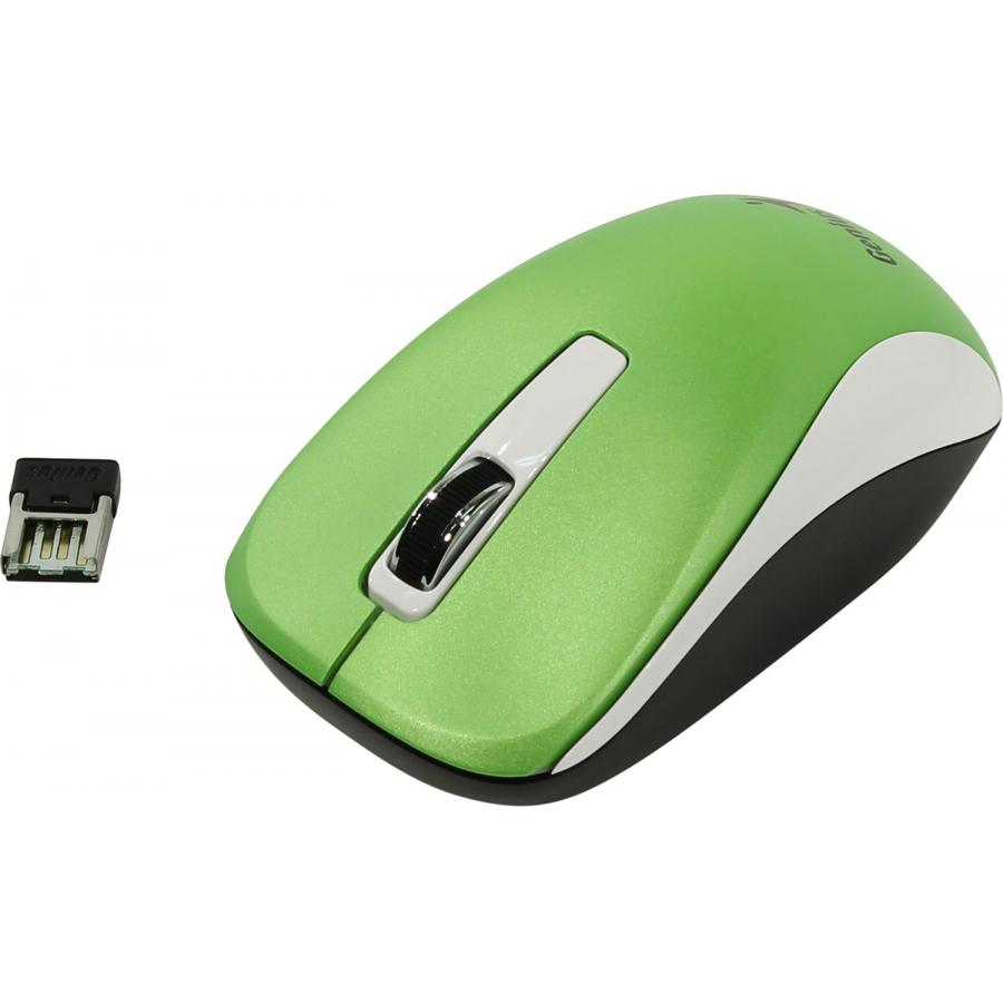 Мышь Genius NX-7010 Green USB (31030114108) цена и фото