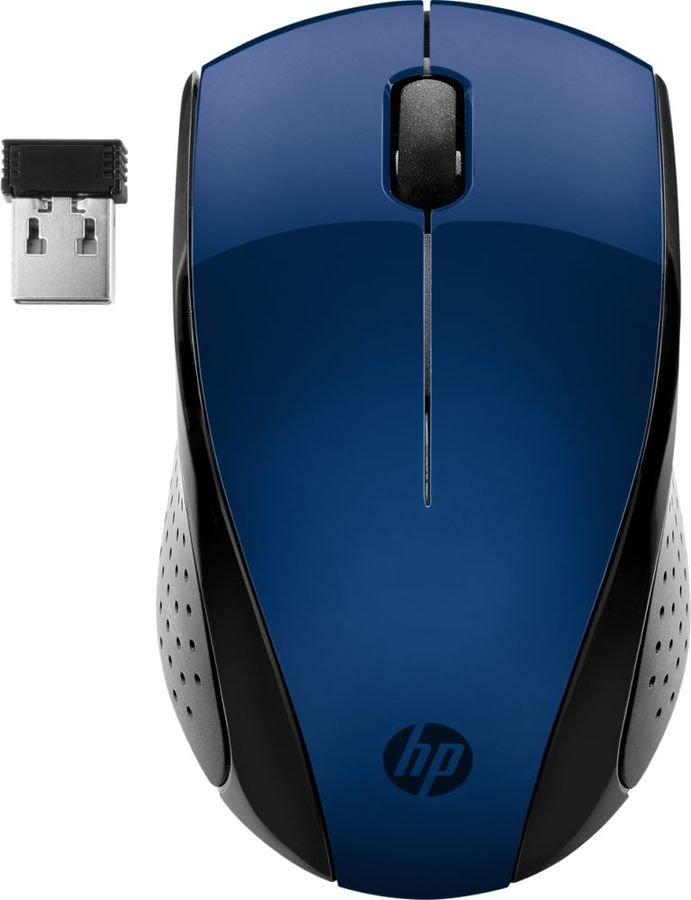 Мышь HP Wireless Mouse 220 Blue мышь hp essential usb mouse 2tx37aa 2tx37aa