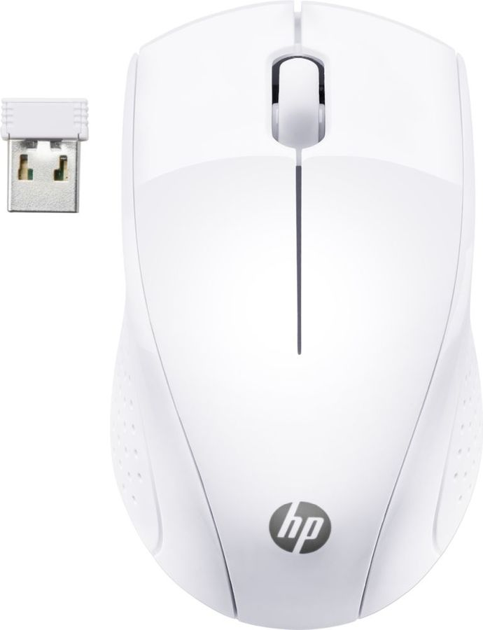 Мышь HP Wireless Mouse 220 Swhi мышь hp essential usb mouse 2tx37aa 2tx37aa
