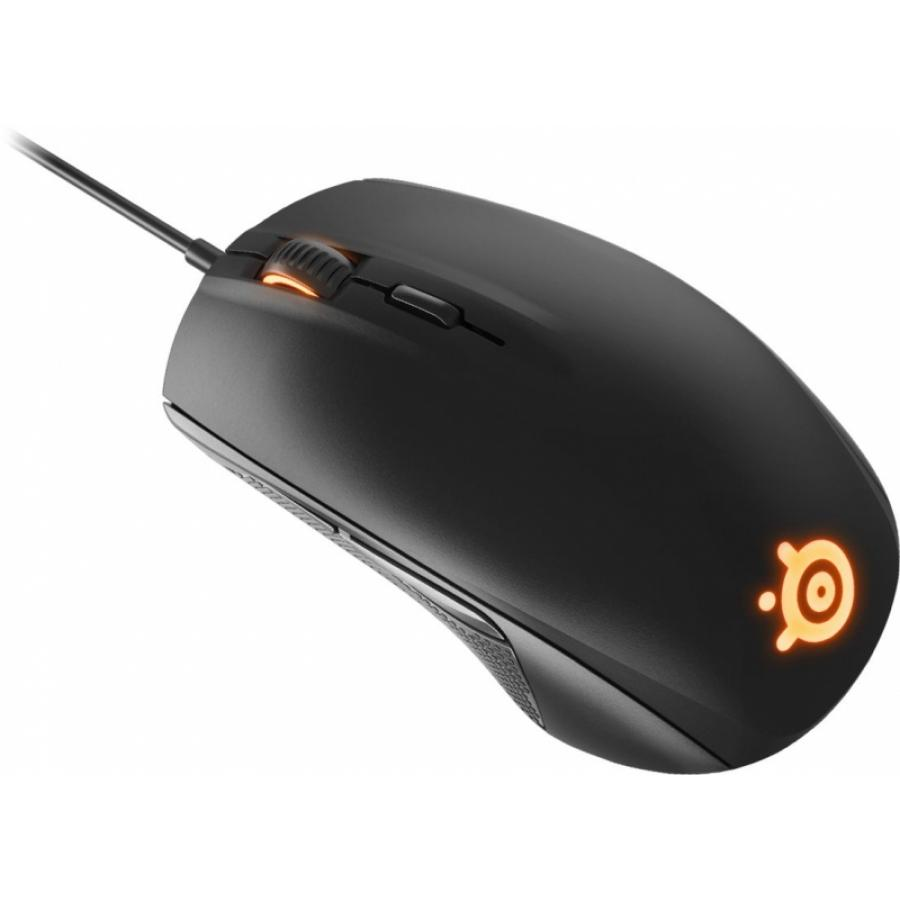 Мышь SteelSeries Rival 100 Black (62341) от Kotofoto