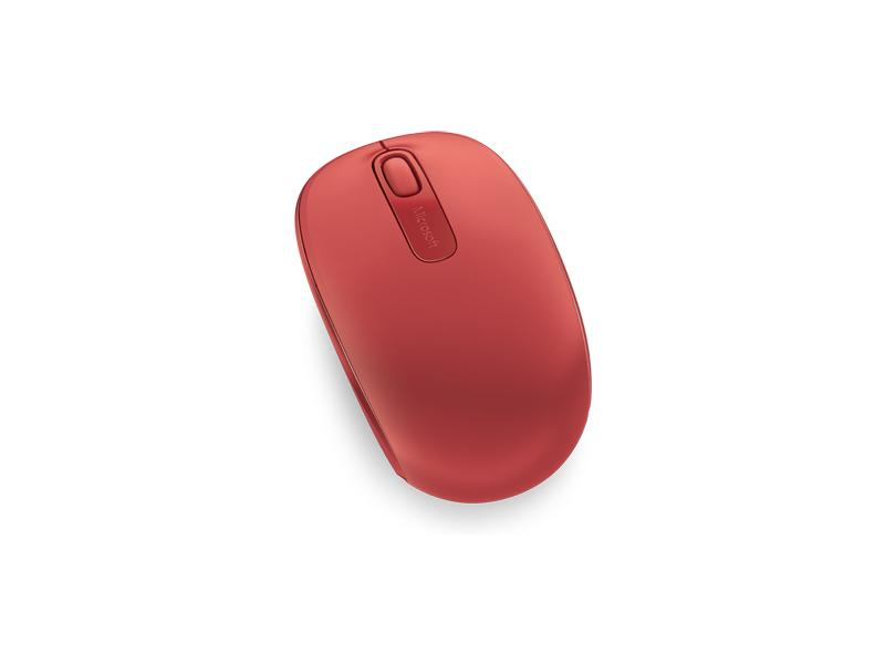 Фото - Мышь Microsoft Wireless Mobile Mouse 1850 Red (U7Z-00034) 360 degree round finger ring mobile phone smartphone stand holder
