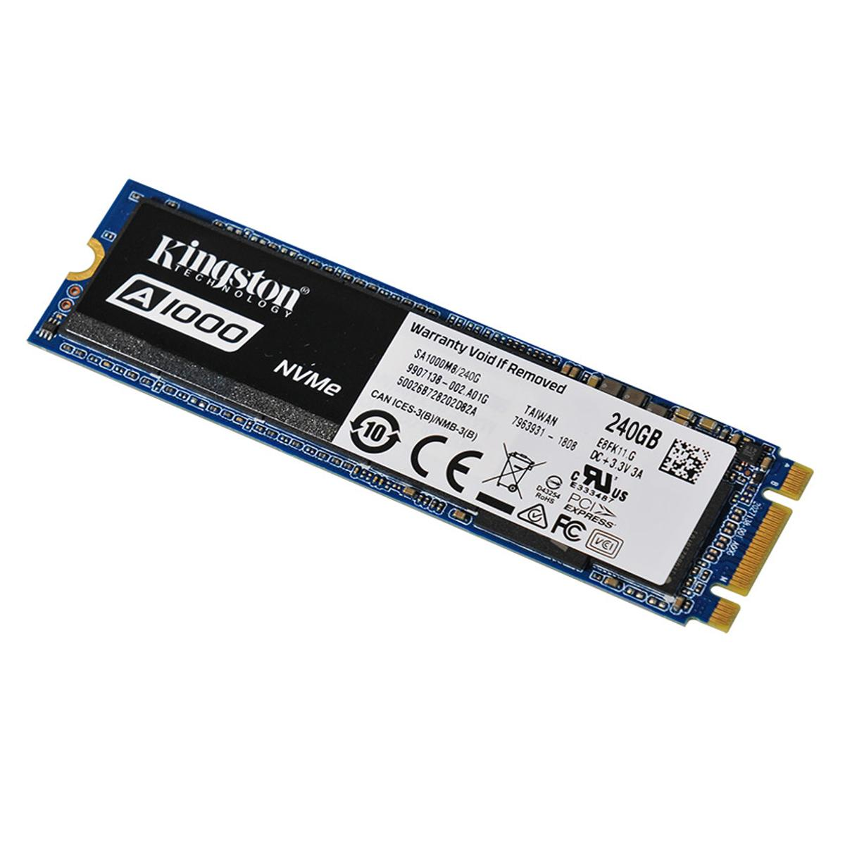 Накопитель SSD Kingston A1000 240Gb (SA1000M8/240G)