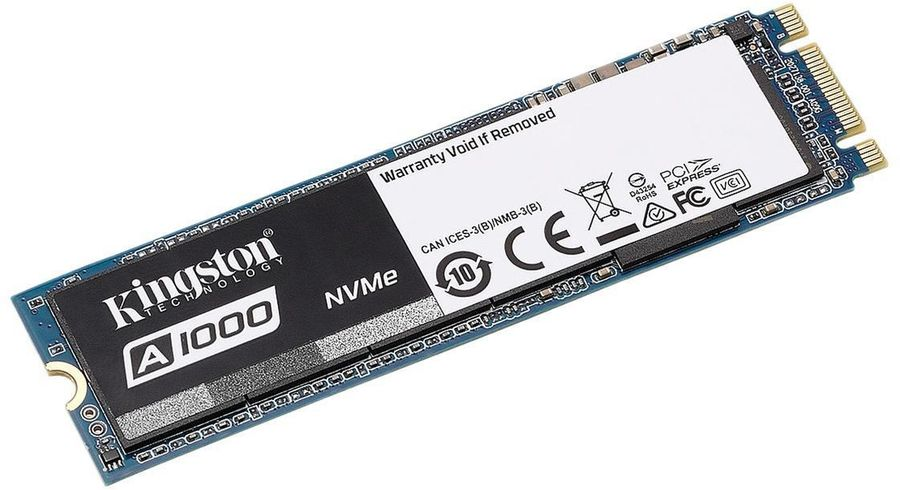 Накопитель SSD Kingston 960Gb A1000 M.2 2280 (SA1000M8/960G) мини пк orange pi pc2
