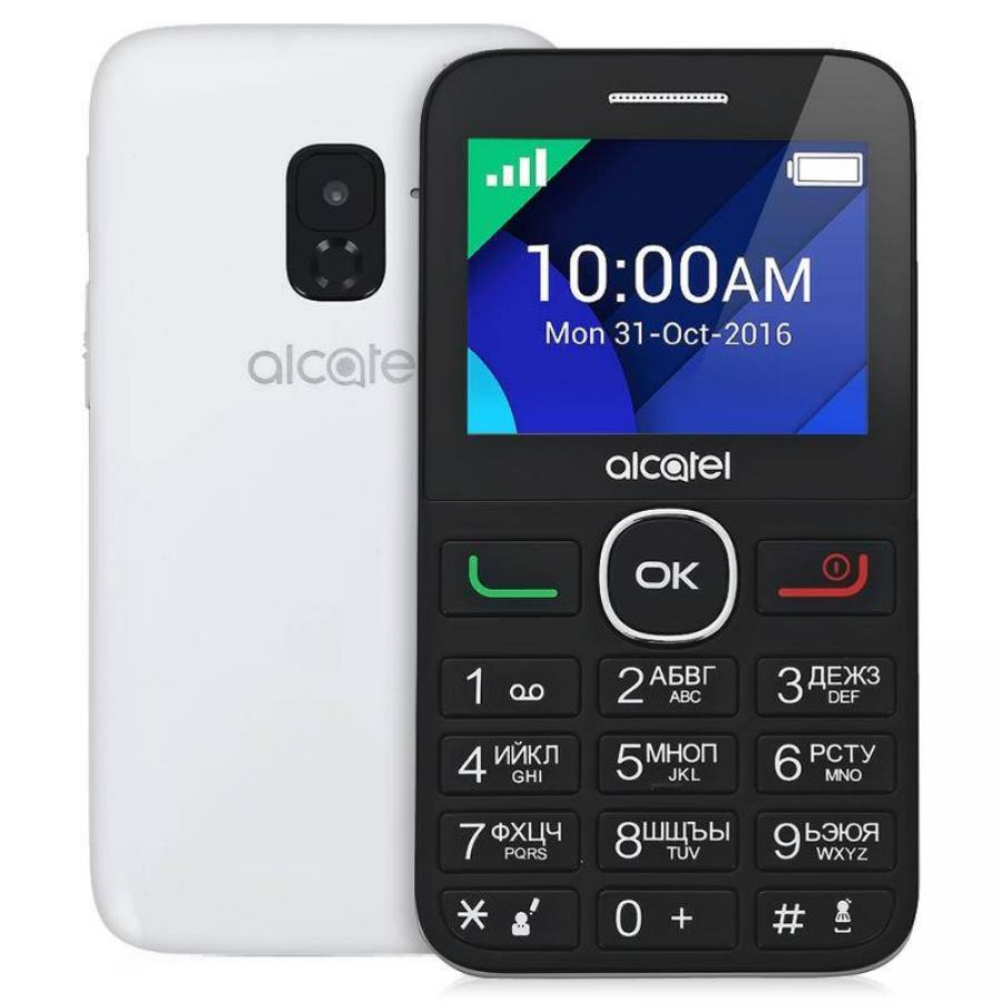 Мобильный телефон Alcatel Tiger XTM 2008G White мобильный телефон alcatel 2008g tiger xtm silver серебристый