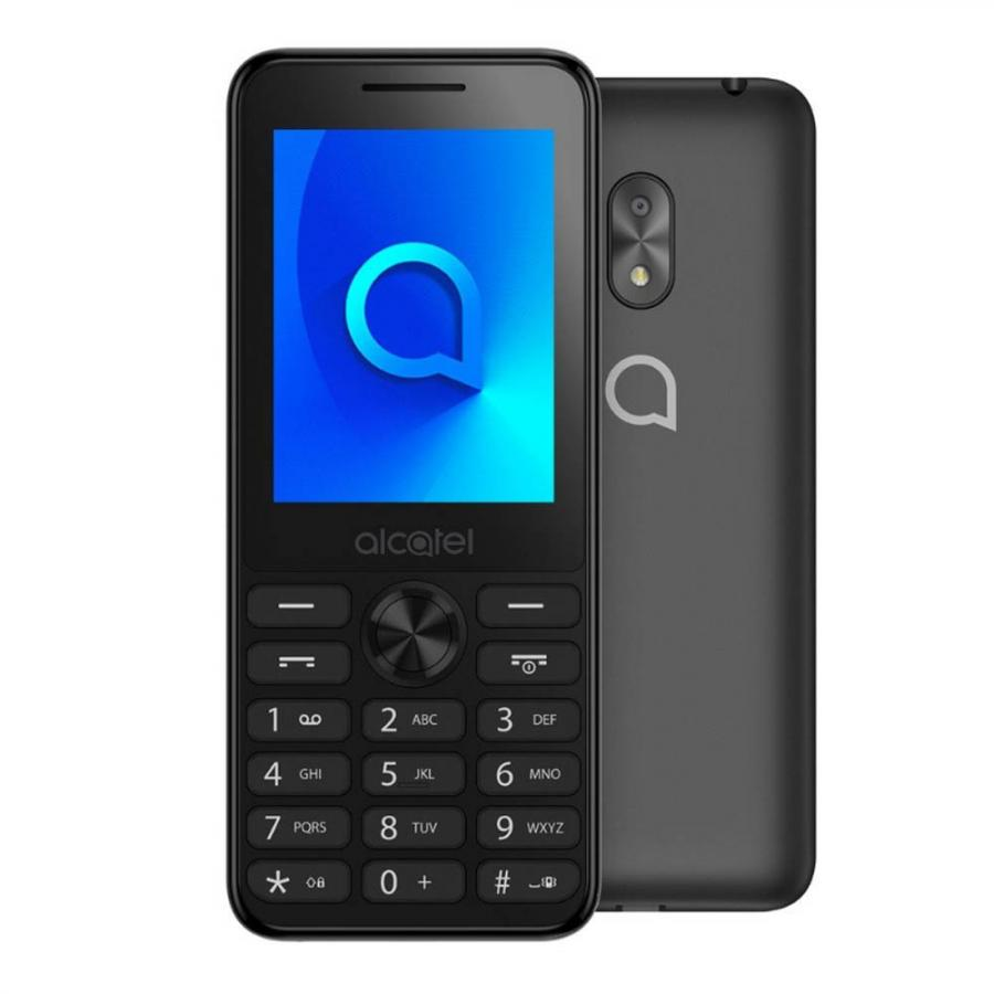 Мобильный телефон Alcatel 2003D Dark Grey alcatel one touch 6039y idol 3 mini grey
