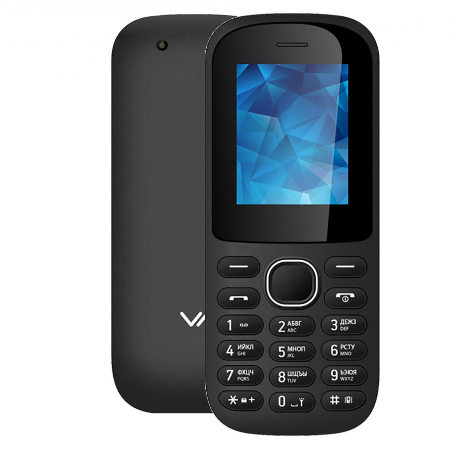 Мобильный телефон Vertex M120 Black телефон cubot