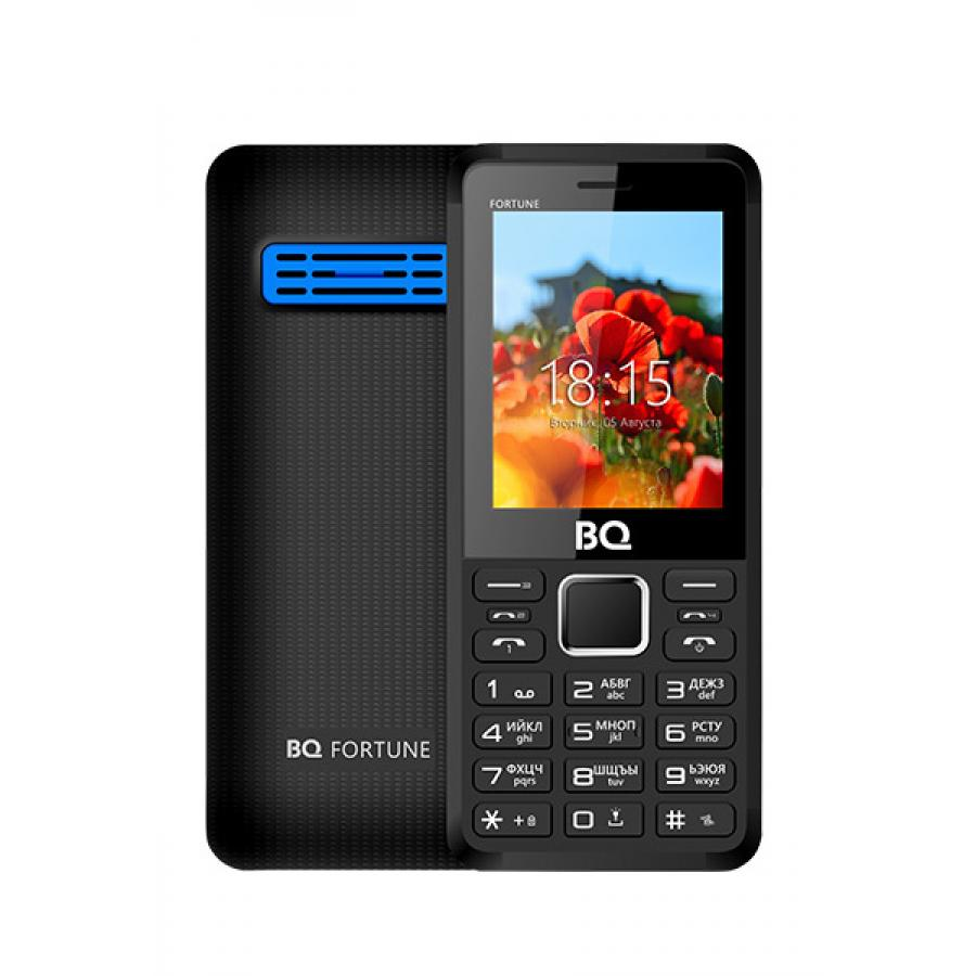 Мобильный телефон BQ BQ-2436 Fortune P Black Blue аксессуар remax knight rc 043i usb lightning для iphone 5 6 7 black