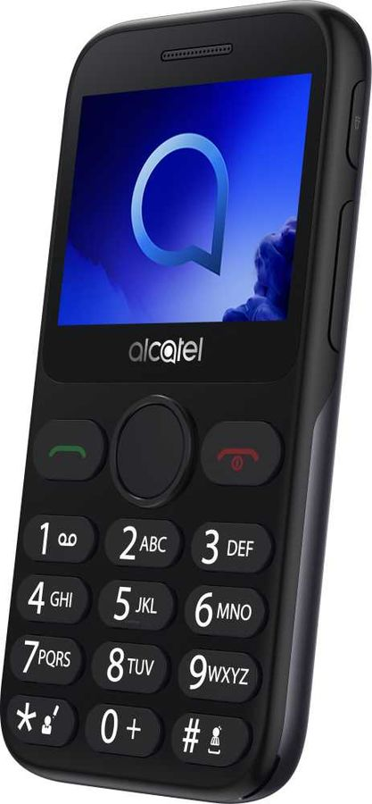 Мобильный телефон Alcatel 2019G Black/Metallic Gray недорого