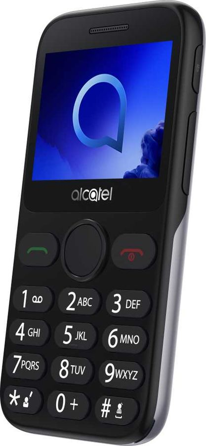 Мобильный телефон Alcatel 2019G Black/Metallic Silver недорого