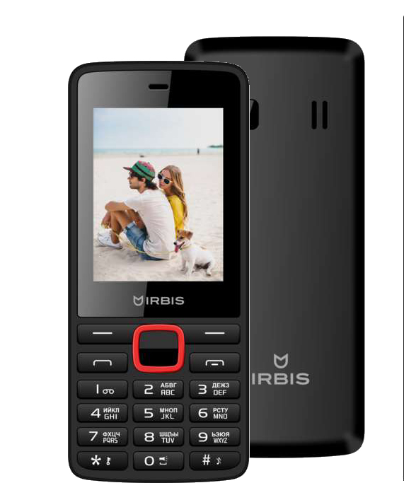 Мобильный телефон Irbis SF09 Black/Red телефон