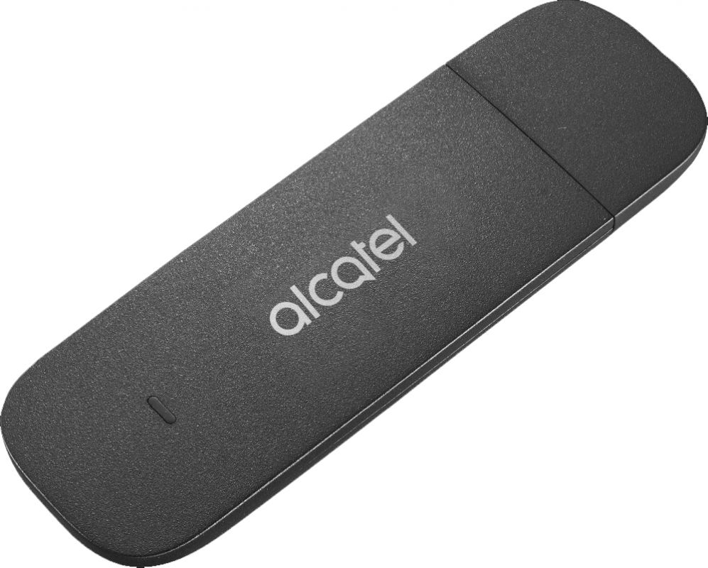 Модем Alcatel Link Key USB черный интернет центр alcatel link hub hh70 белый [hh70vh 2balru1 1]
