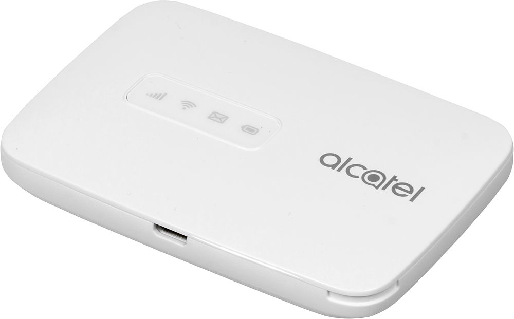 Модем Alcatel Link Zone USB Wi-Fi Firewall +Router белый интернет центр alcatel link hub hh70 белый [hh70vh 2balru1 1]