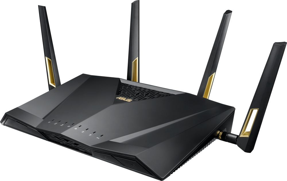Wi-Fi роутер Asus RT-AX88U черный wi fi роутер asus rt ac52u b1
