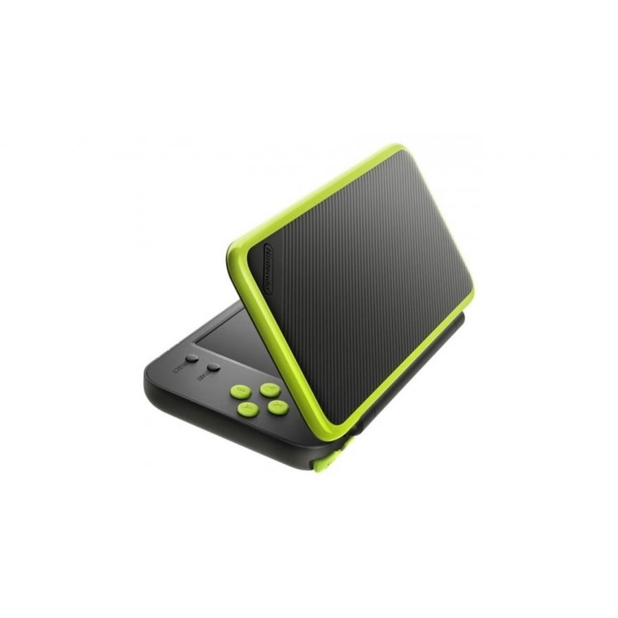 Игровая консоль Nintendo 2DS XL Black-Lime (+ Mario Kart 7 ConNd2D17) игровая приставка nintendo 2ds xl white lime mario kart 7 connd2d15