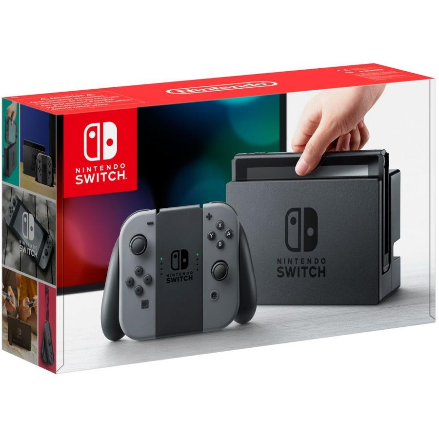 Игровая консоль Nintendo Switch Grey + The Legend of Zelda: Breath of the Wild игровая приставка nintendo switch grey