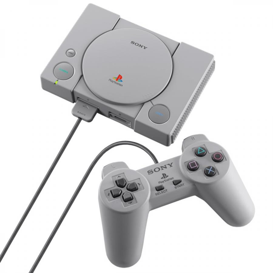 Игровая консоль Sony PlayStation Classic SCPH-1000RE игровая консоль sony playstation 4 slim 1tb black cuh 2208b gran turismo sport god of war horizon zero dawn ce psn 3 месяца