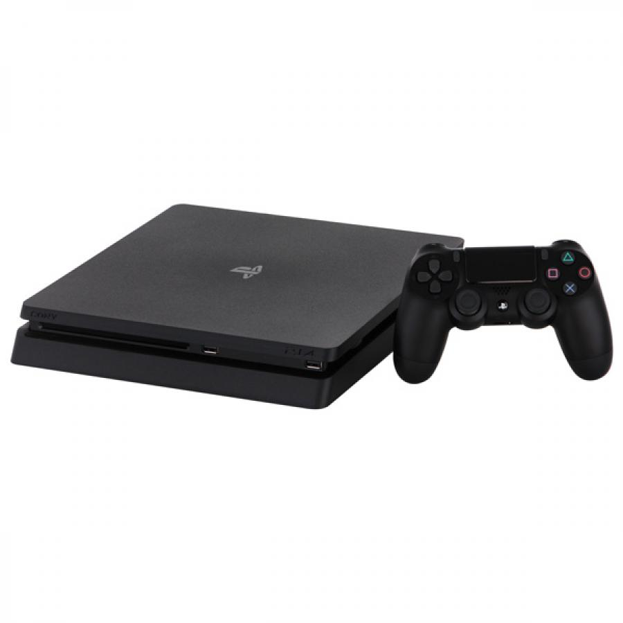 Игровая консоль Sony PlayStation 4 Slim 1Tb Black CUH-2208B (+ Gran Turismo Sport + God of War + Horizon Zero Dawn CE + PSN 3 месяца) цена и фото