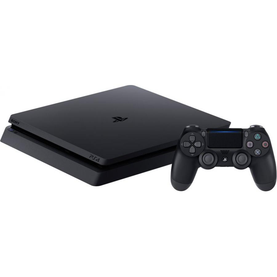 Игровая консоль Sony PlayStation 4 500Gb Slim CUH-2208A (+ Horizon Zero Dawn + Gran Tourismo + Uncharted 4 + PS Plus 3 месяца) игровая консоль sony playstation 4 500gb slim cuh 2208a horizon zero dawn gran tourismo uncharted 4 ps plus 3 месяца