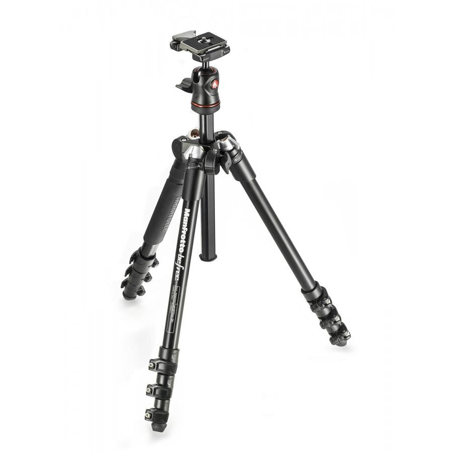 лучшая цена Штатив Manfrotto Befree Advanced Travel Lever MKBFRLA4BK-BH Black