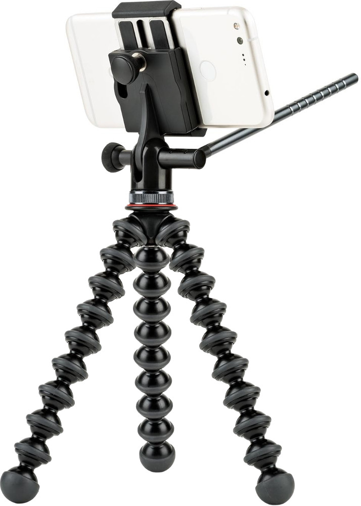 Штатив Joby GripTight PRO Video GP Stand, черный штатив joby griptight one gp stand jb01491 0ww черный