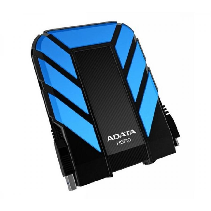 Внешний HDD A-Data DashDrive Durable HD710 1Tb Blue (AHD710-1TU3-CBL)