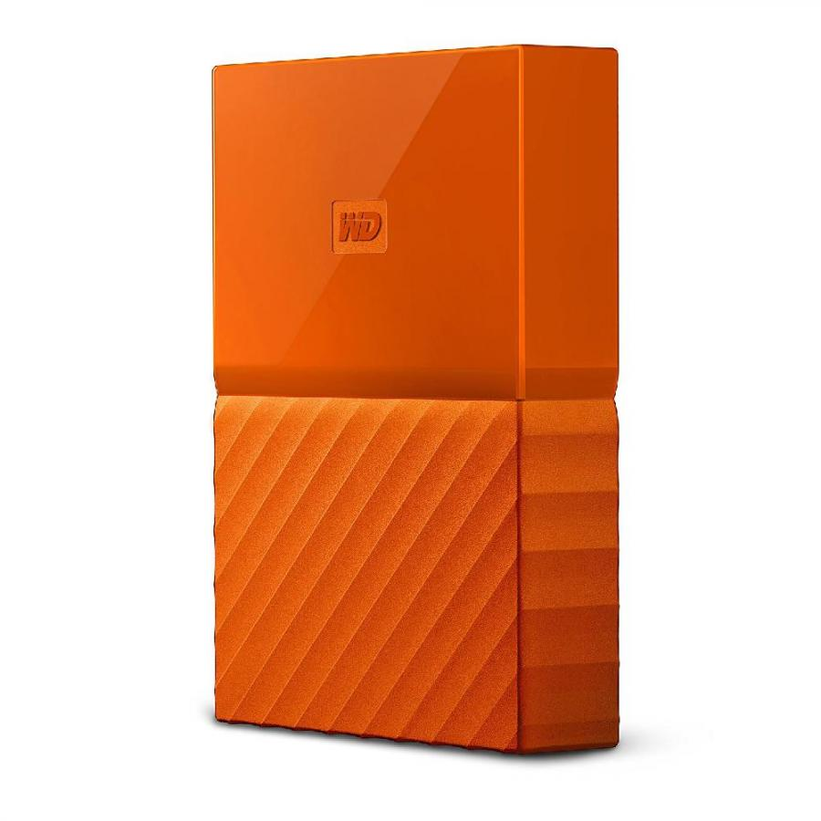 Внешний HDD WD My Passport 2Tb Orange (WDBLHR0020BOR-EEUE)