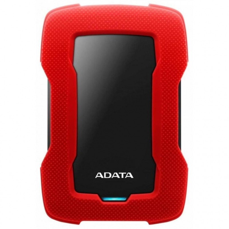 Внешний HDD A-Data DashDrive Durable HD330 1Tb Red (AHD330-1TU31-CRD)