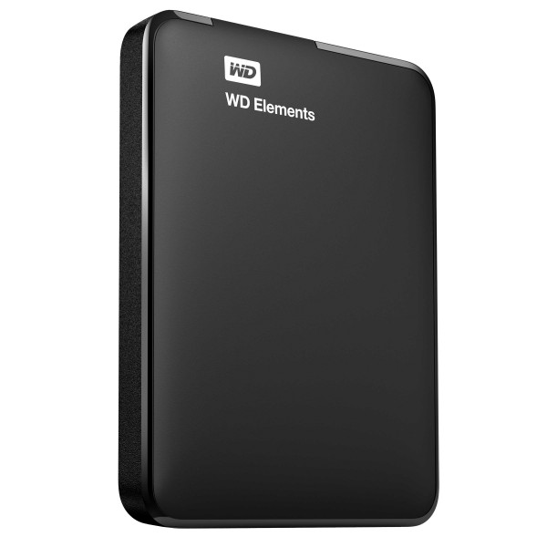 Фото - Внешний HDD WD Elements Portable WDBMTM0010BBK-EEUE 1ТБ Black внешний hdd wd elements portable 1tb black wdbuzg0010bbk wesn