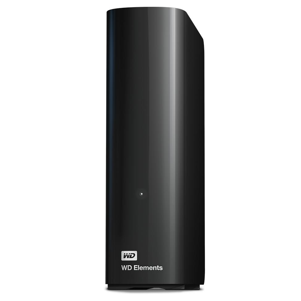 Внешний HDD WD Elements Desktop 8ТБ Black (WDBWLG0080HBK-EESN) жесткий диск wd original usb 3 0 10tb wdbwlg0100hbk eesn elements desktop 3 5 черный