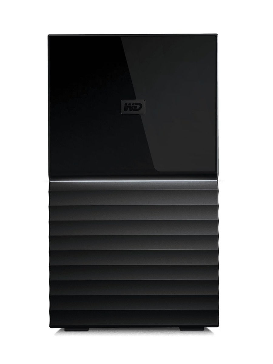 Внешний HDD WD My Book Duo 16Tb (WDBFBE0160JBK-EESN)